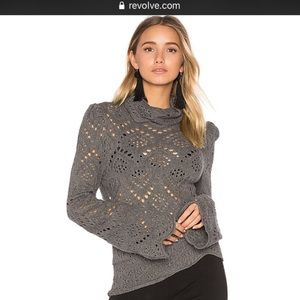 Free people large shoot from the heart sweater